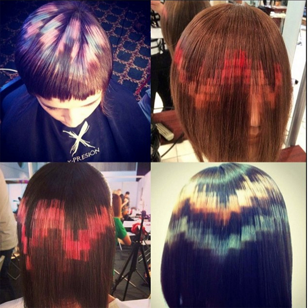 Pixel Hair Is The Newest Hair Color Trend Gallery