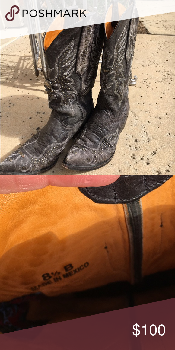 Old gringo cowboy boots Rocker chick edgy Old Gringos. Super comfortable. Look amazing with a black leather jacket or a fur! Old Gringo Shoes