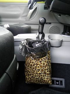 Car Trash Bag Out Of Duct Tape