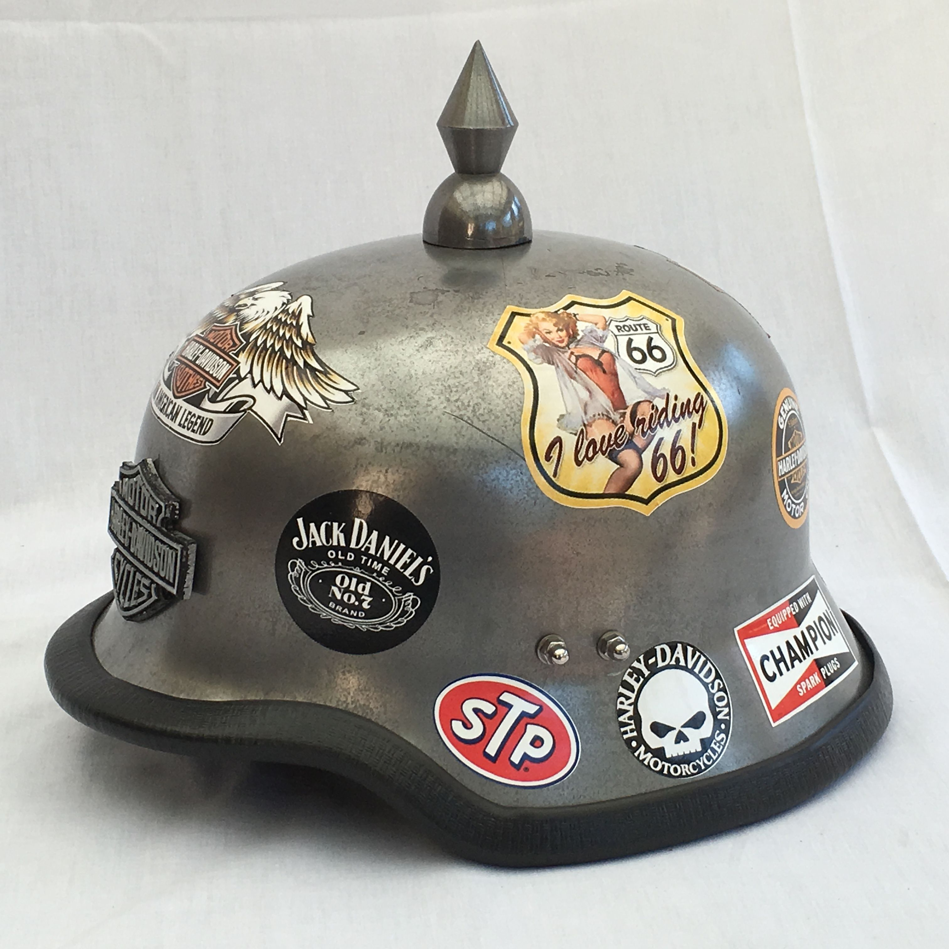 Pin On Steampunk Motorcycle Helmets