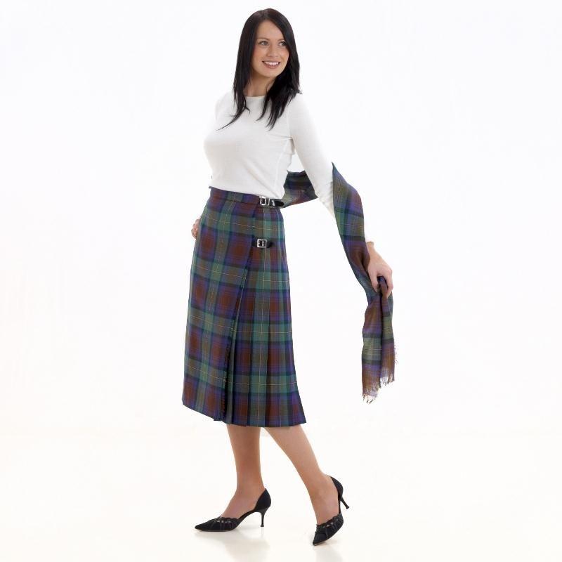 tartan kilted skirt tartan scarves and country attire