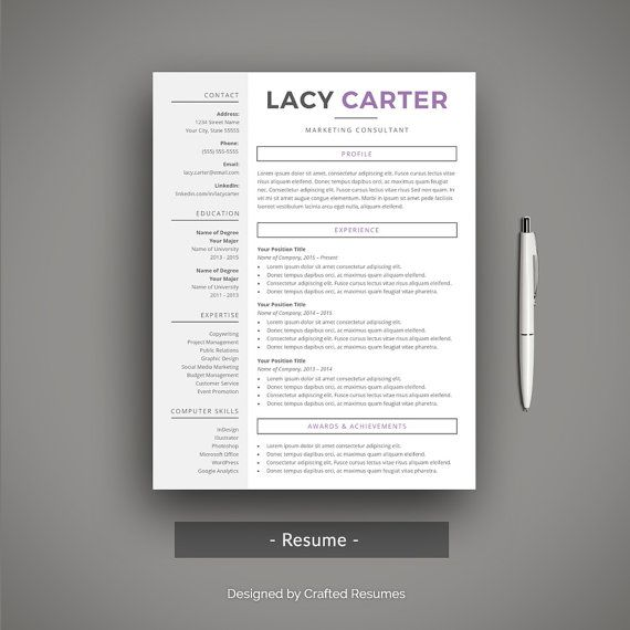 Pin By Elizabeth Davis On Resumes    Cv Template