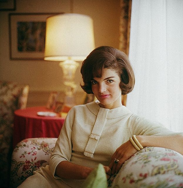 Jackie Kennedy. My mom used to say,