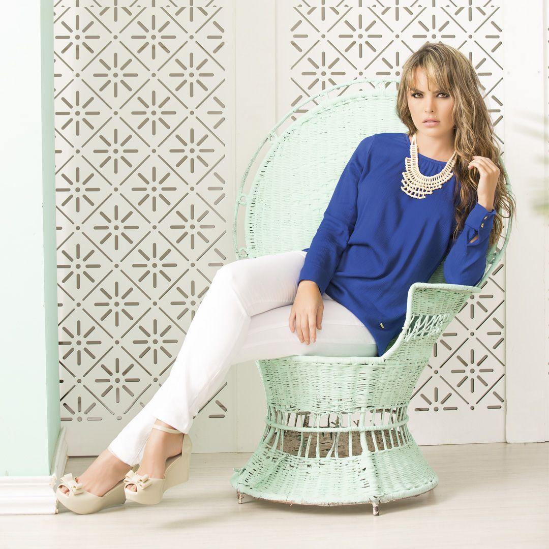 Luce bella con este look recomendado para el día de hoy  REF blusa: 1892  REF pantalón: J047