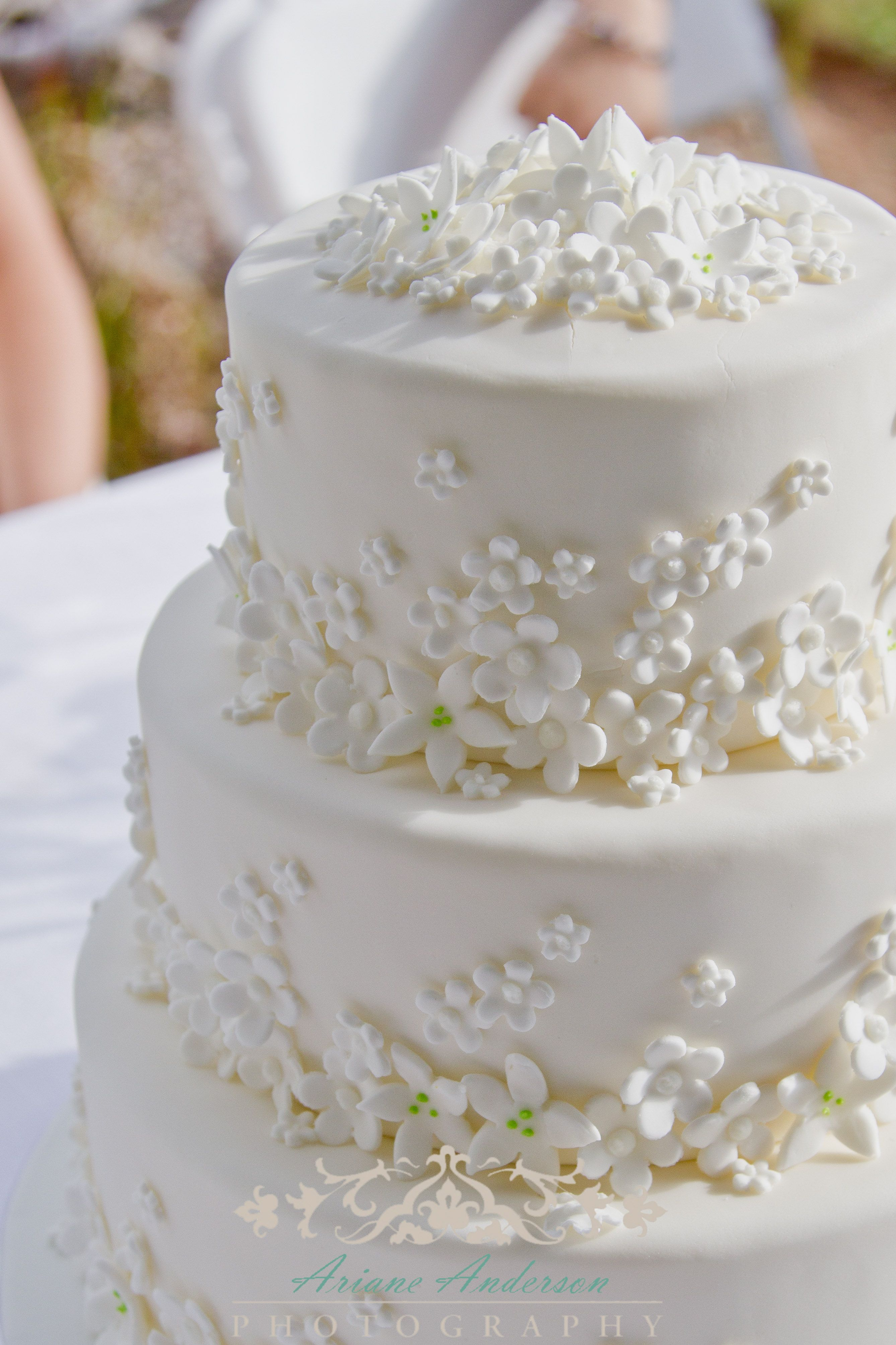 Wedding cake by Scanway Catering wedding cakes Pinterest