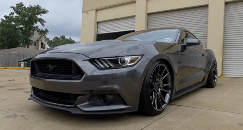 Slick S550 Ford Mustang Gt Custom Video