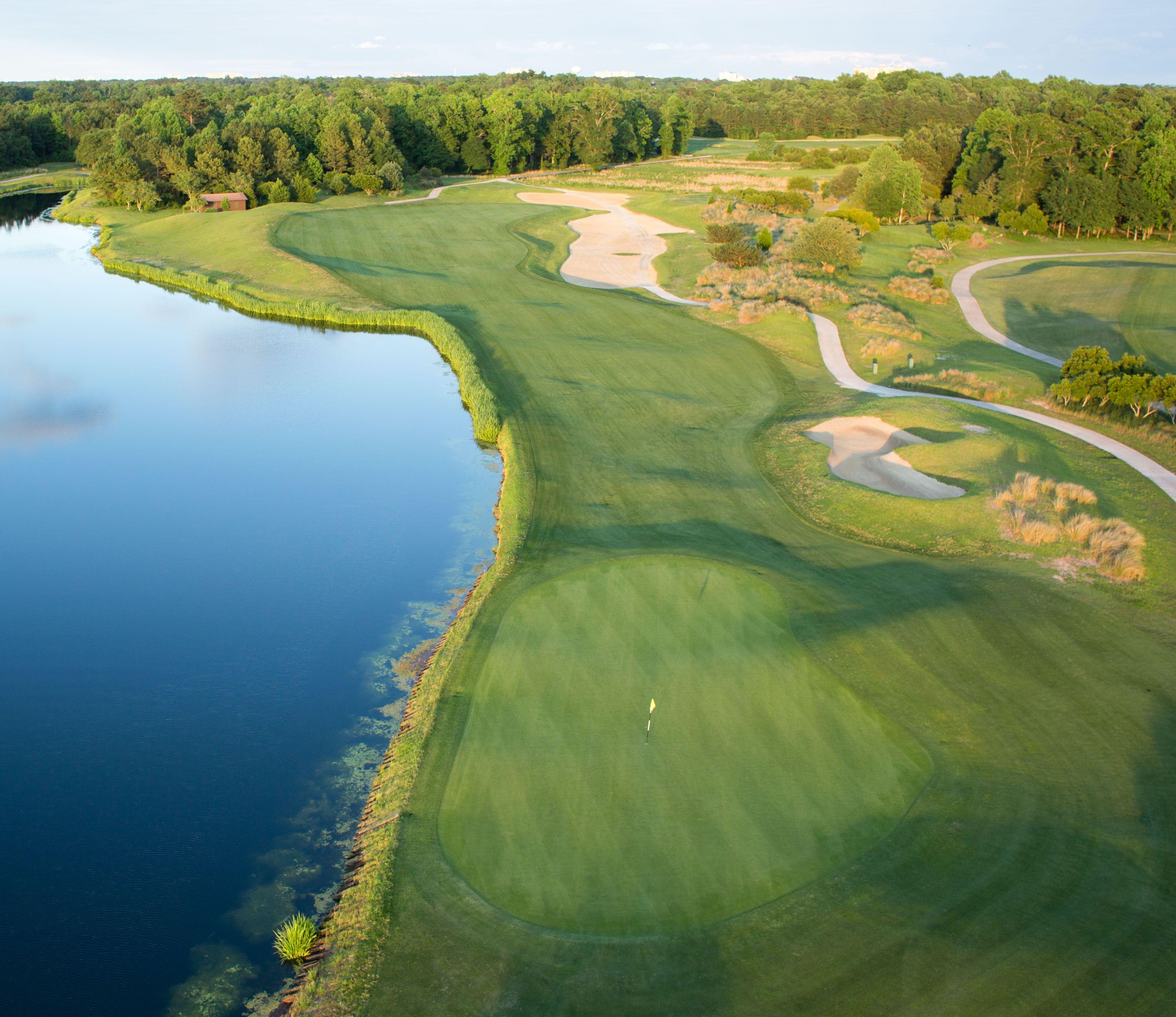Dye Golf Course- Hole 9 Barefoot Resort & Golf North