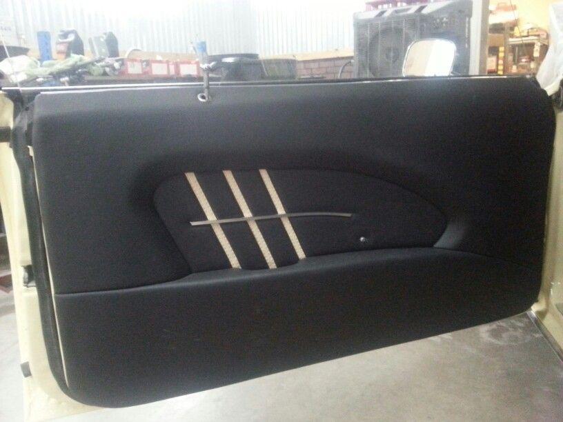 68 Camaro Custom Door Panel Custom Door Panel Doors Interior Design