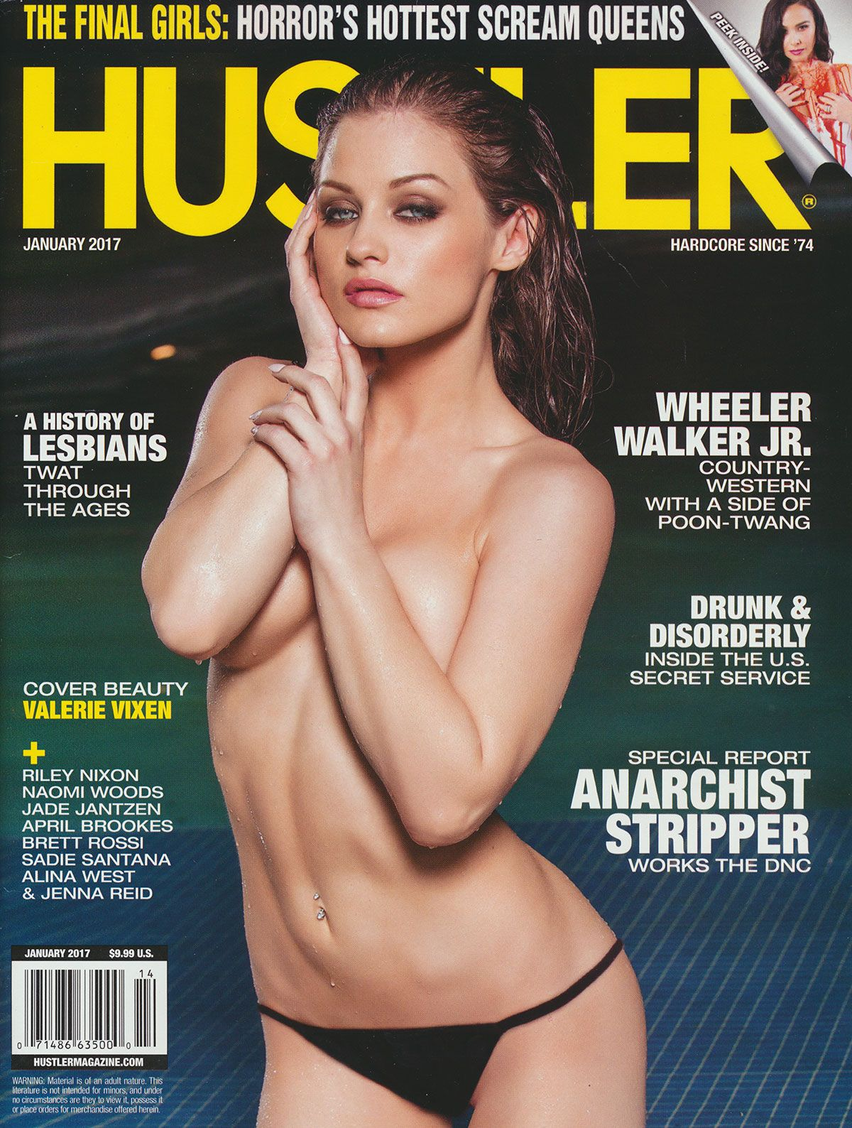 Hustler cover july 2018