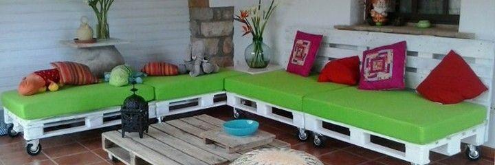 pin de luca snchez fernndez en mobiliario de palets pinterest sofa palets palets y sof - Sofas De Jardin Baratos