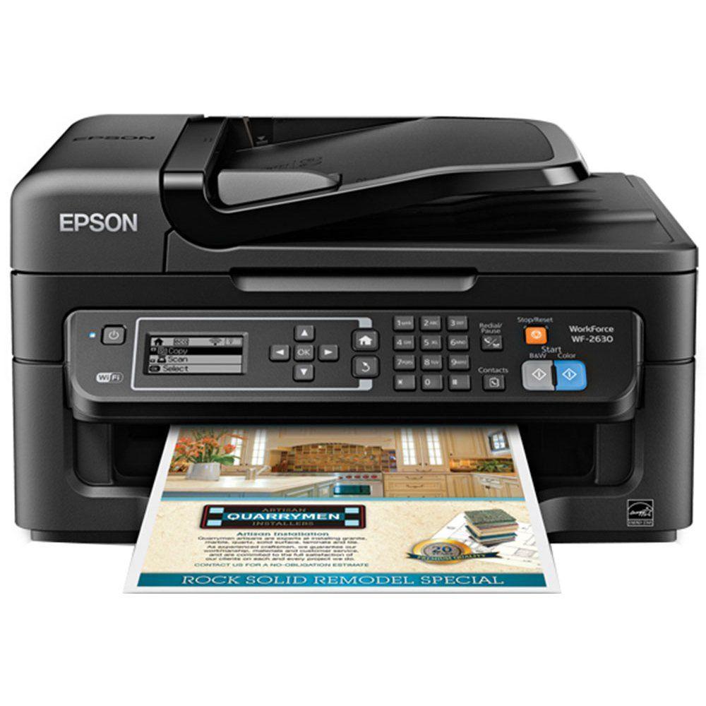 Epson WorkForce 2630 Inkjet Multifunction Printer Plain