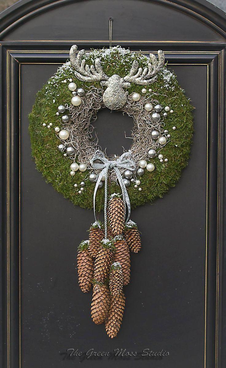 Photo of Corona di Natale da I Corona di Natale #dekohausingang #von #Weihnachtskranz – W …