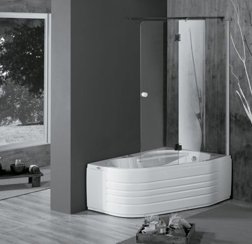 Corner Bathtub Shower Combination WAP BOX COLACRIL