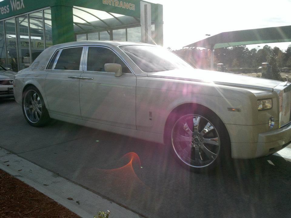 Rollsin In To CarbuX Car Wash On Beach Blvd Jacksonville FL - Cool cars jacksonville