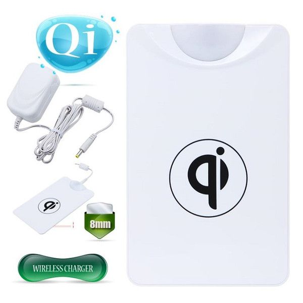 Universal Qi Standard Wireless Charger Pad Power Charging