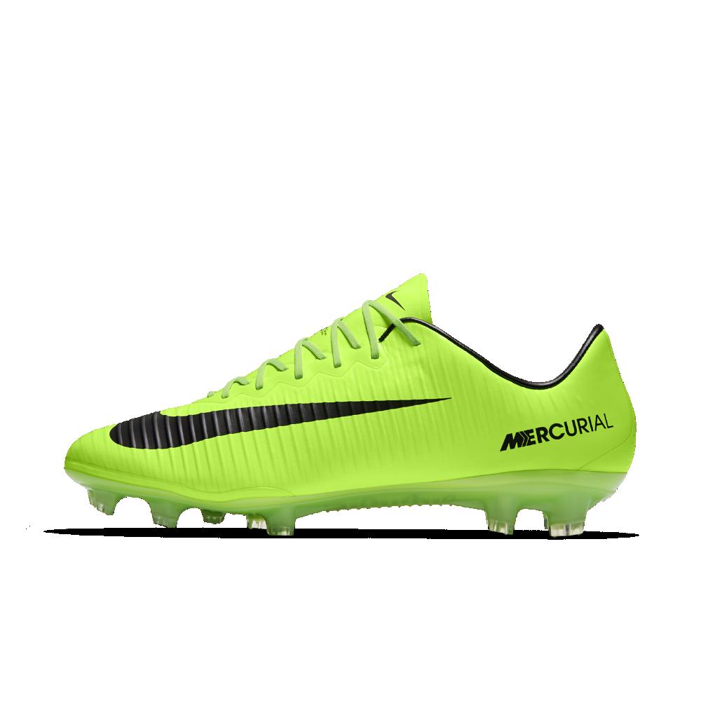 85a98fd2c255e Nike Mercurial Vapor XI Firm-Ground Soccer Cleats Size 11.5 (Green) -  Clearance Sale