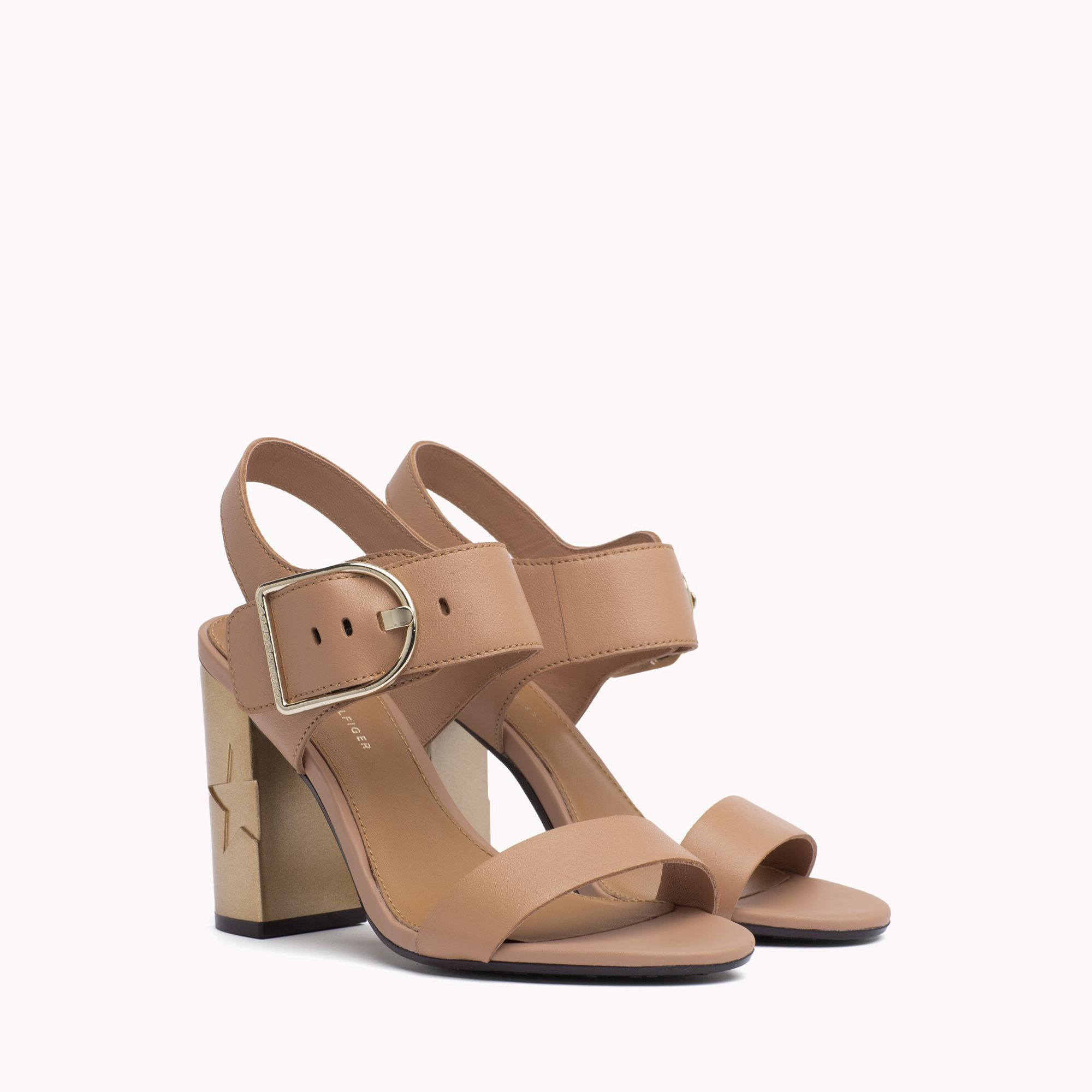 72163876ebf Tommy Hilfiger Star Heel Buckle Sandal - Silky Nude 8.5 | Products ...