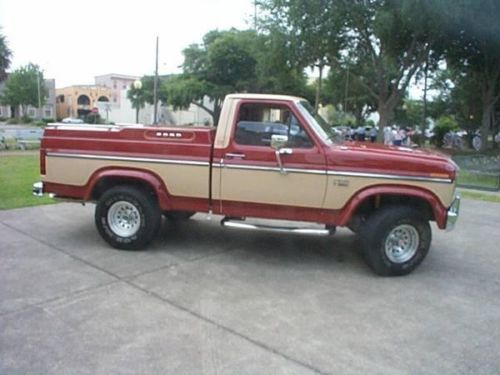 1985 Ford F 150 Lariat For Sale Eustis Fl 12 500 Always