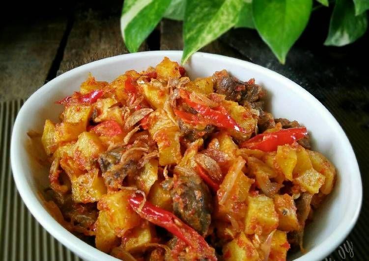 Resep Sambel Goreng Kentang Pr Masakankentang Oleh Dapurvy Resep Resep Makanan Sehat Makanan Dan Minuman Resep Makanan