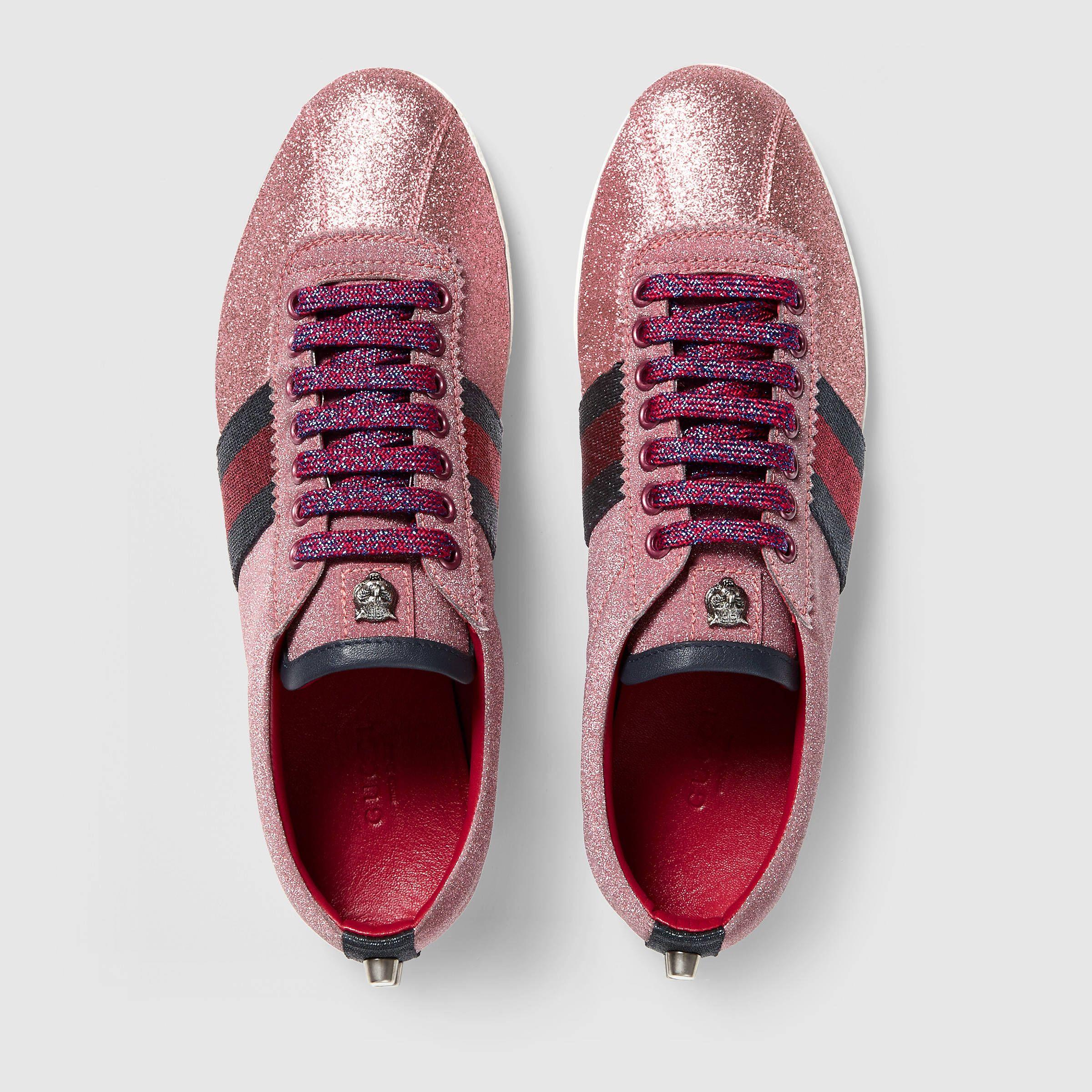 50f8f564347 Gucci glitter sneaker