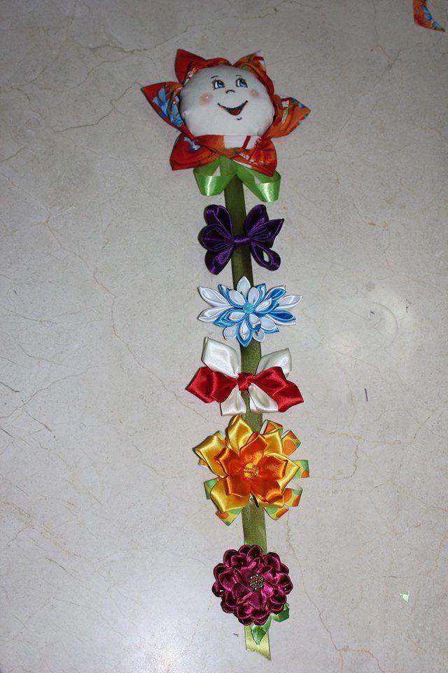 flor porta moños