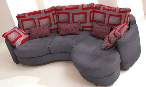 Small Curved Sectional Sofa : small round sectional sofa - Sectionals, Sofas & Couches