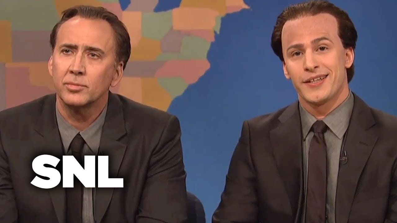 Weekend Update Get in the Cage with Nicolas Cage and Nicolas Cage  SNL2010s