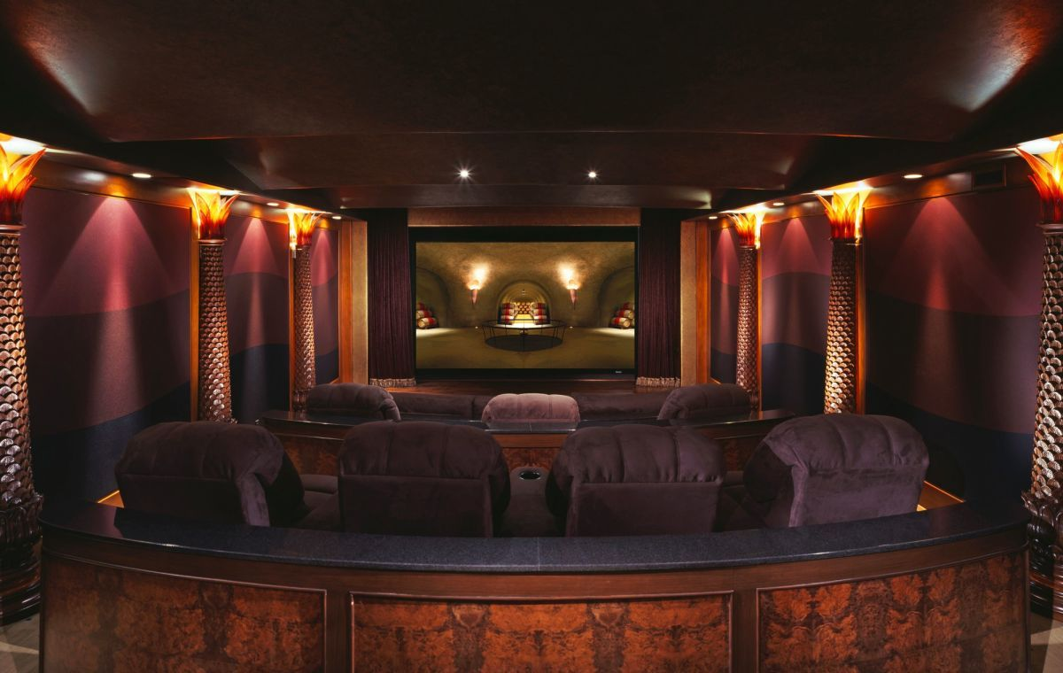 Good Luxury Home Theater. Landry Design Group, Inc. / High End Custom  Residential Architecture Los Angeles