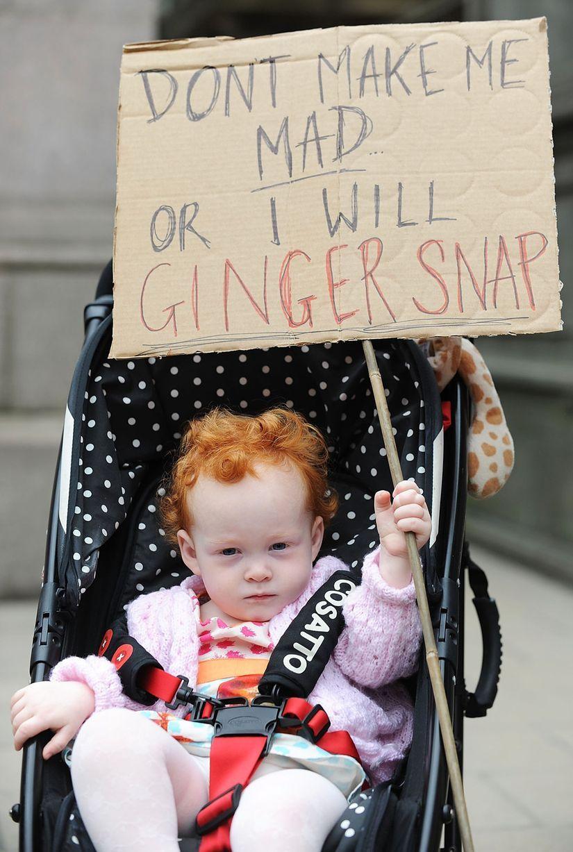 Ginger Pride à Edimbourg — Les roux débarquent ! Ginger Pride Walk 2148889