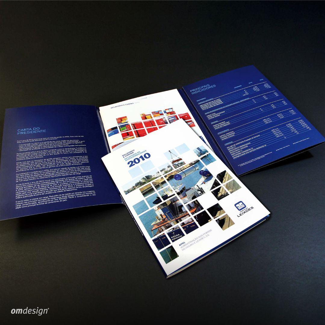 Relatório & Contas e Relatório de Sustentabilidade Porto de Leixões (2011)  #StayOm #Omdesign #Design #Portugal #LeçadaPalmeira #Since1998 #AwardedAgency #DesignAwards #GraphicDesign #BookDesign #AnnualReport #R&C #Relatório&Contas #SustainabilityReport #RelatóriodeSustentabilidade #PortodeLeixoes #APDL #Matosinhos #Leça