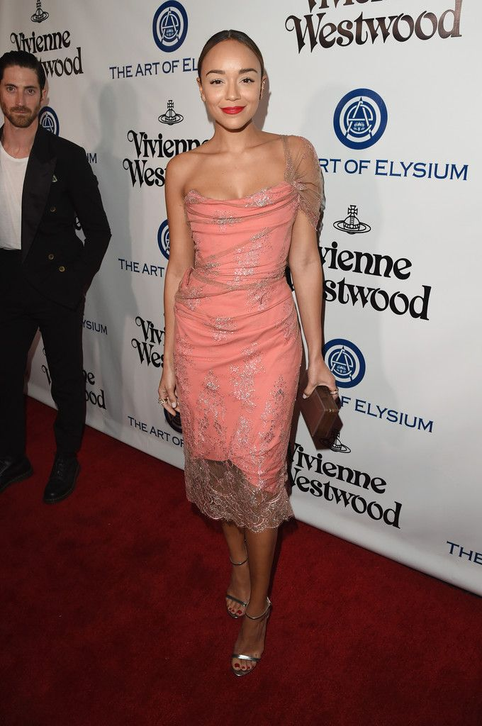 Ashley Madekwe in Vivienne Westwood