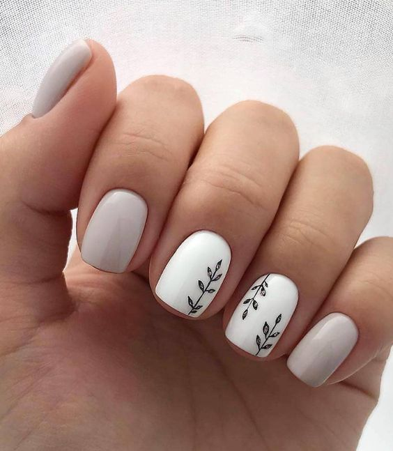50 Simple And Amazing Gel Nail Designs For Summer Page 49 Of 50 Soopush Short Acrylic Nails Designs Acrylic Nail Designs Short Acrylic Nails