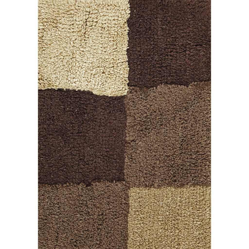 Brown And Tan Bathroom Rugs