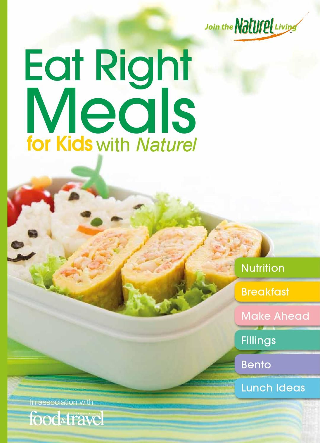 Eat right meals kids meals eat meals