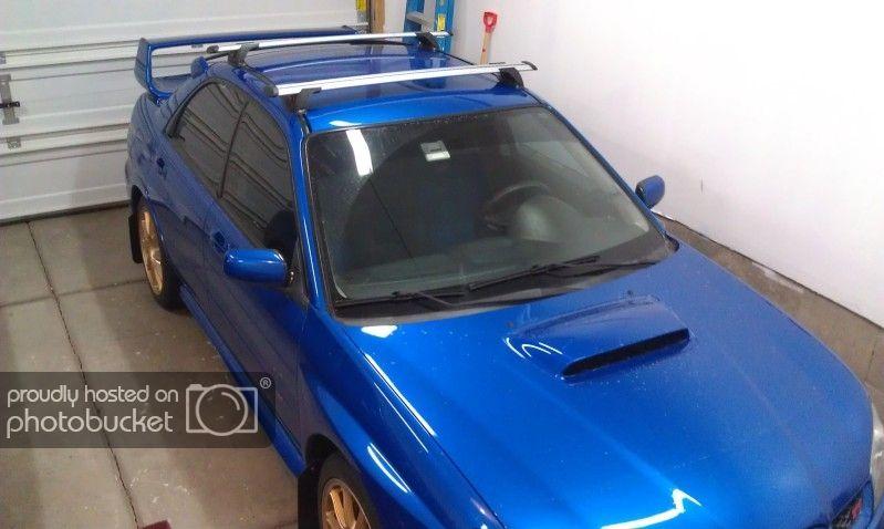 Exterior Prorack Whispbar Roof Rack Installed On 06 Sti Using Rain Gutter Brackets Subaru Impreza Wrx Sti Forums Iwsti Com Roof Rack Wrx Impreza