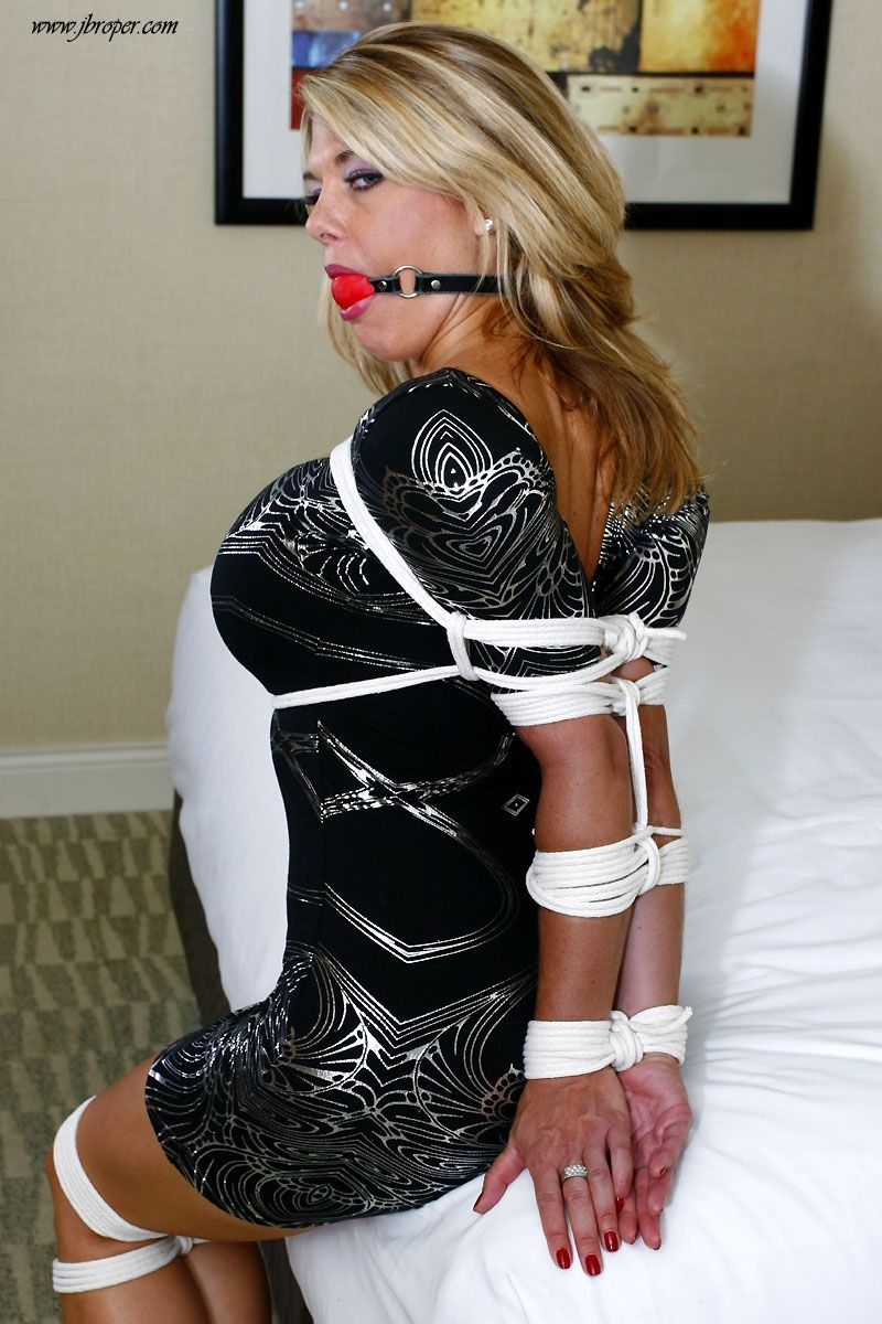 Ball gagged girls tied up — pic 3