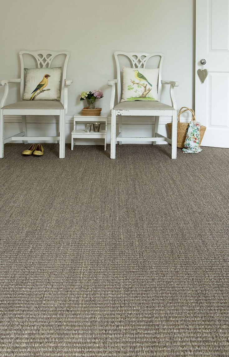 Flatweave Grey Sisal Carpet In A Country Hallway Sisal Carpet Flat Weave Carpet Custom Sisal Rugs