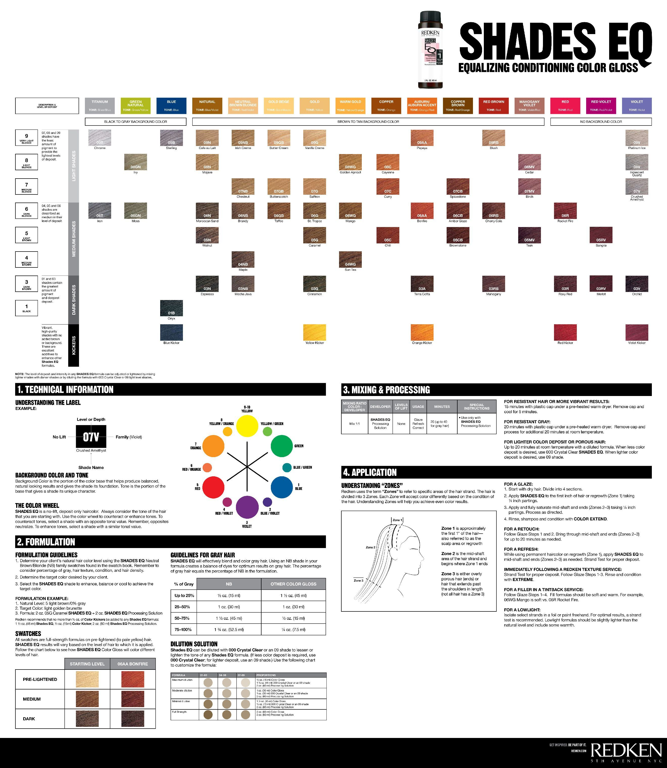 Pin By Lorraine Green On Redken Shades In 2020 Redken Shades Redken Hair Color Hair Color Chart
