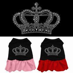 Rhinestone Crown Dress