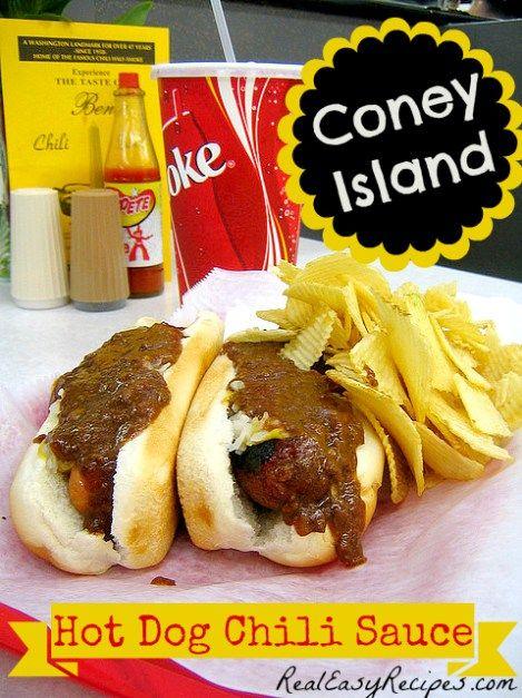 How To Make Coney Island Sauce