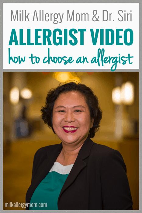 How To Choose An Allergist Milk Allergy Mom Allergy Mom Milk Allergy