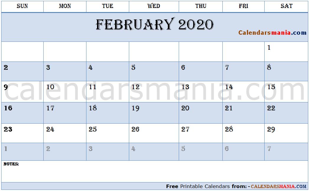 Tumblr February Calendar 2020 February 2020 Calendar Tumblr | February 2020 Calendar | Calendar