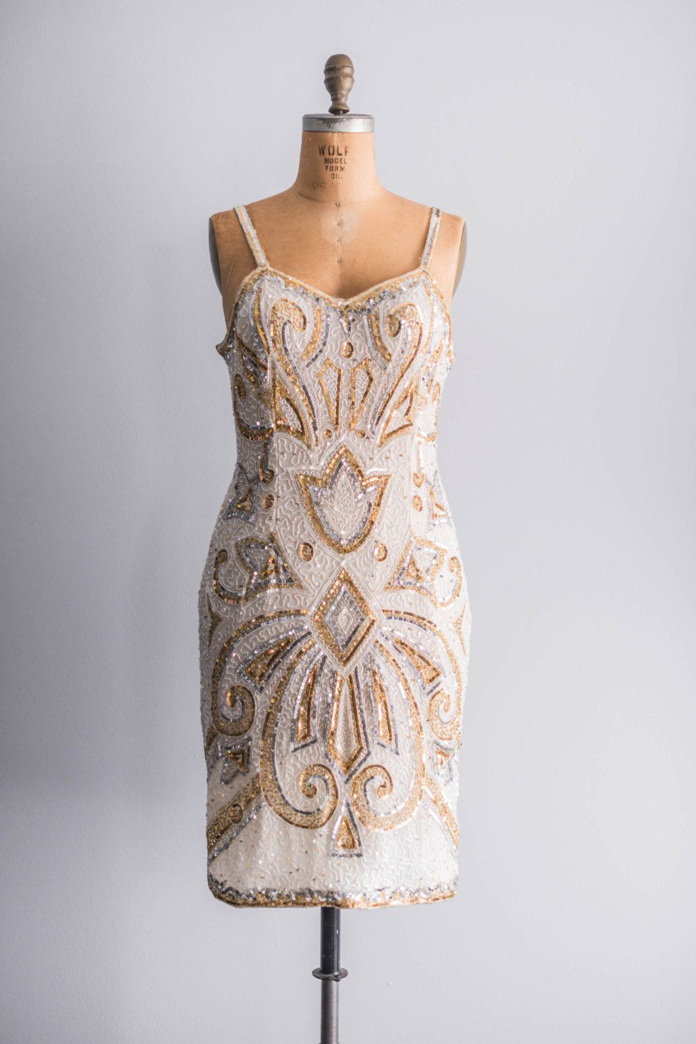 Beaded vintage dresses vintage gold beaded bridesmaid dressfull vintage gold beaded bridesmaid dress dresses party and fashion dresses ombrellifo Choice Image