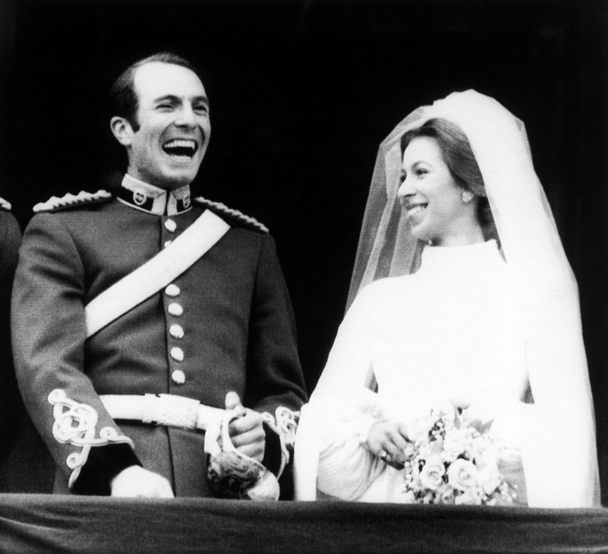 Royal Wedding Rewind Princess Anne Gets Married. Twice