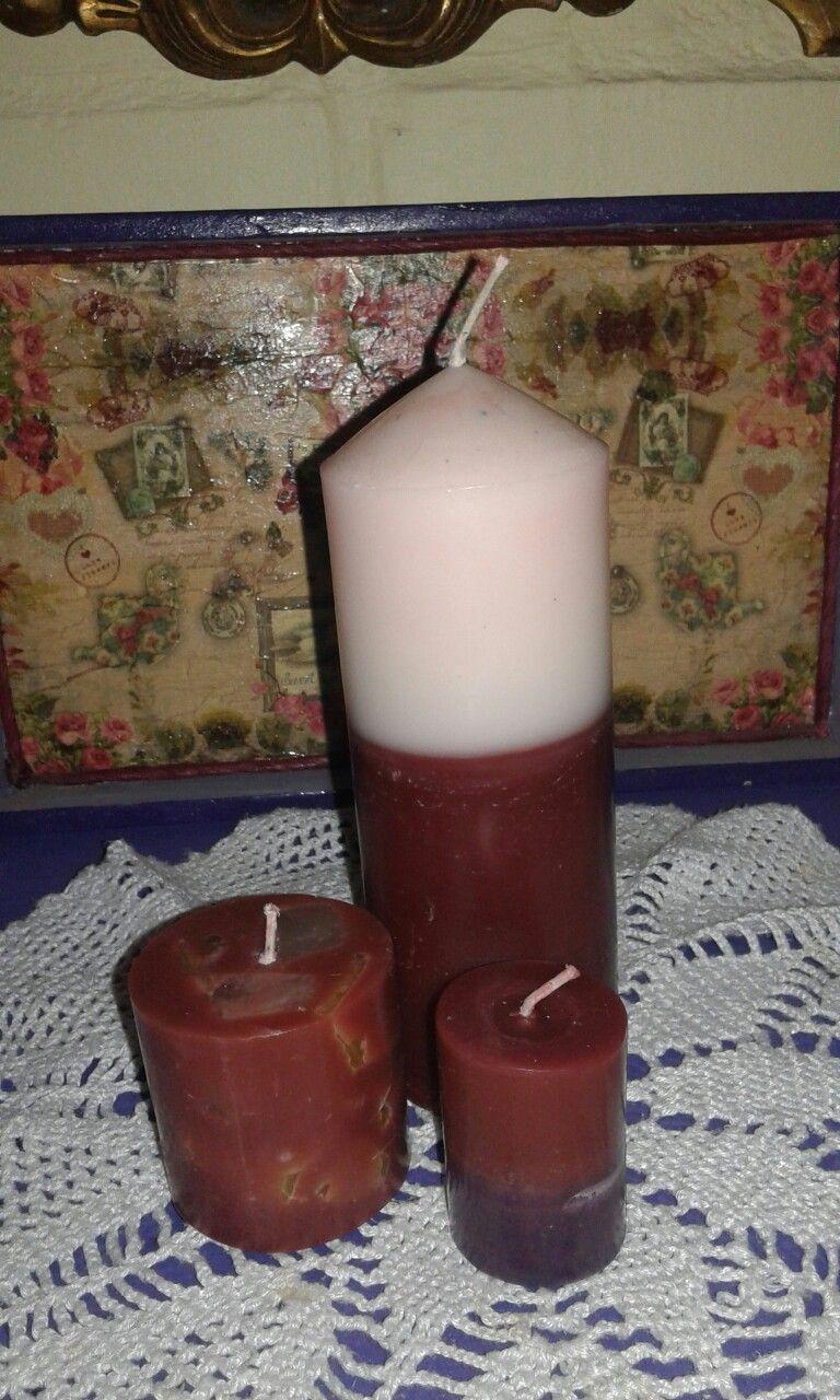 Mis velas aroma a café