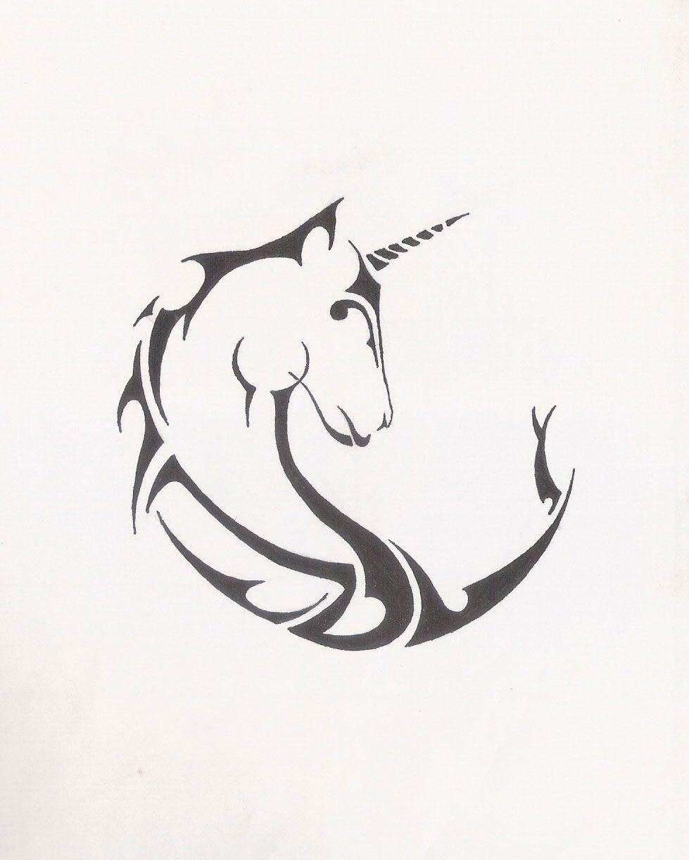 Tribal Unicorn Tattoo Design Wow Tribal Eagle Tattoo Eagle