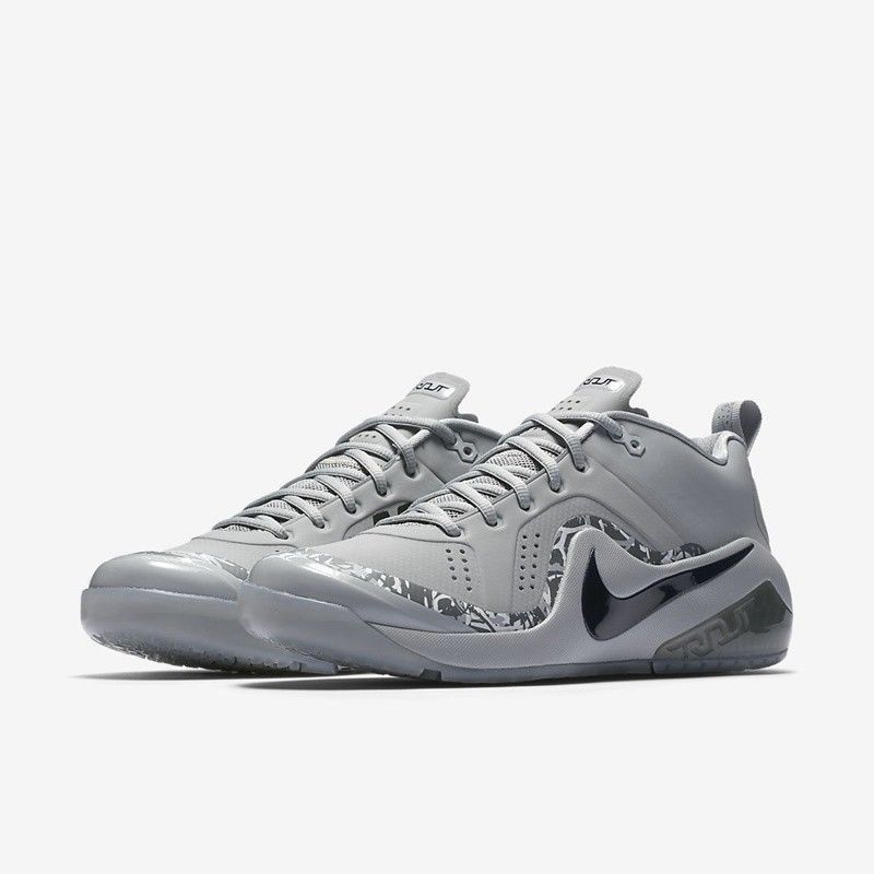 timeless design d7934 a1956 Nike Force Zoom Trout 4 Turf Baseball Shoes Mens 15 Wolf Grey Black  Nike   BaseballShoes