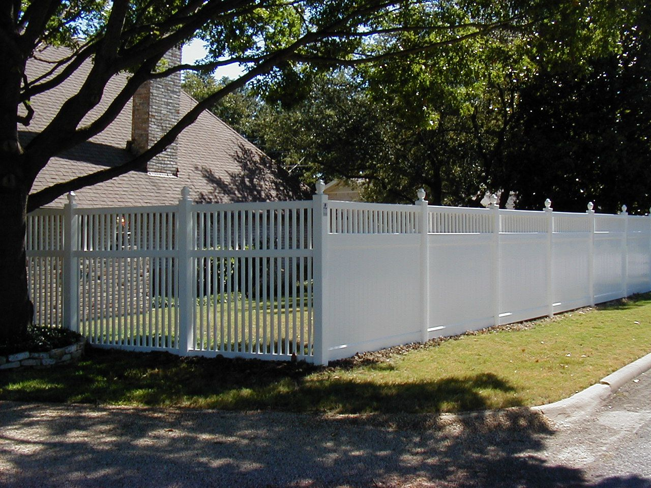 Do you need some privacy and some not so private.  Let Future Outdoors fabricate a fence to fit your yard.  Call today for a free estimate. 972-576-1600 Dallas, DFW, Midlothian, TX