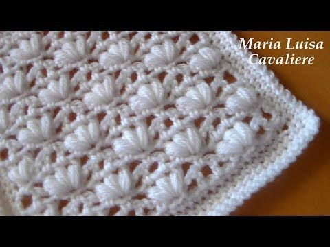 Punto Crochet All Uncinetto.Punto Asterisco All Uncinetto Tutorial Youtube Crochet Motif