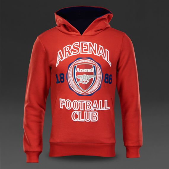 Puma Arsenal Fan Hoody - High Risk Red